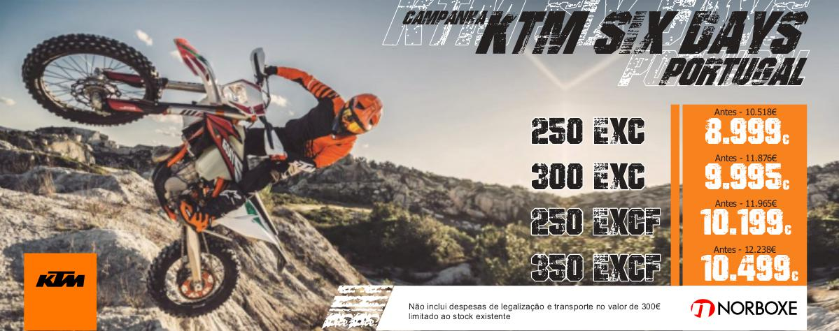 Campanha KTM Six Days Portugal