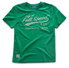 "T-SHIRT SUZUKI ""LIFE AT FULL SPEED"" (HOMEM)"